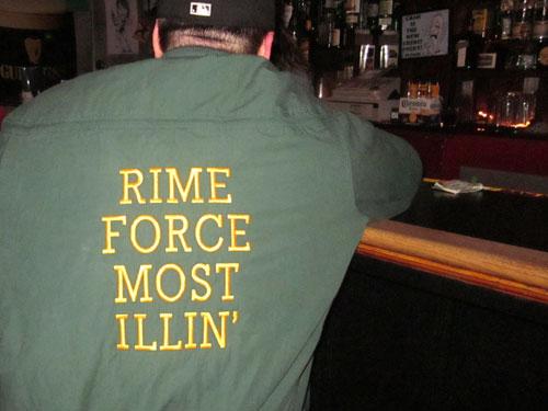 Rime Force Most Illin' jacket