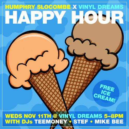 Humphry Slocombe x Vinyl Dreams