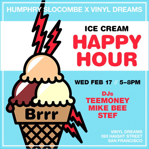 Humphry Slocombe x Vinyl Dreams Happy Hour