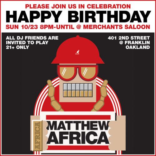 Matthew Africa