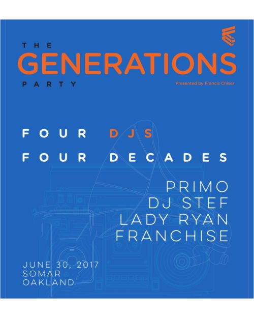 Generations Party Oakland